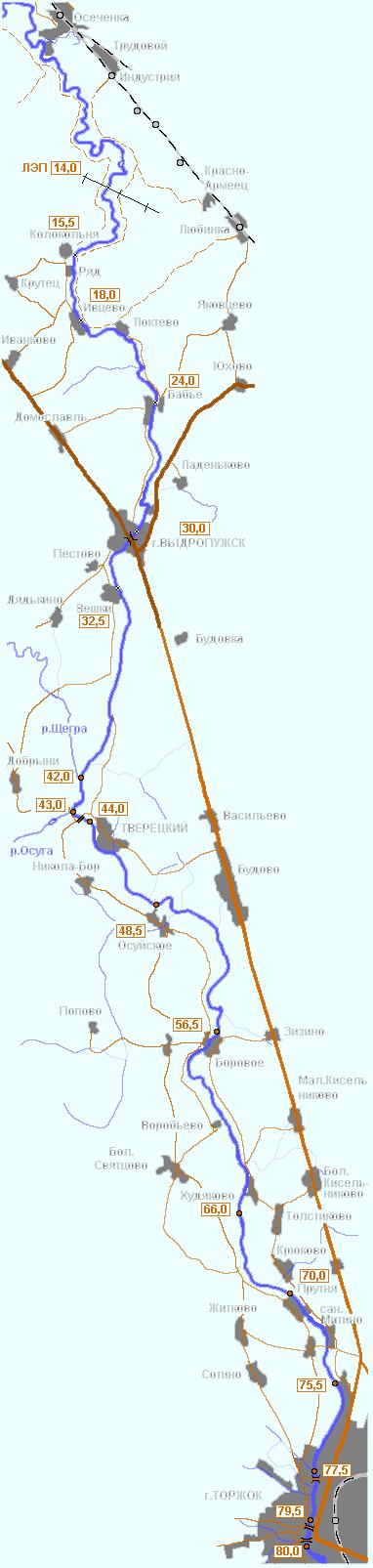 до города Торжка - поход